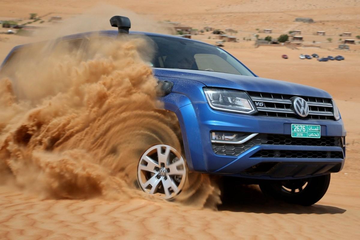 20972 VW Amarok в пустыне Омана. Часть первая. Volkswagen Amarok DoubleCab