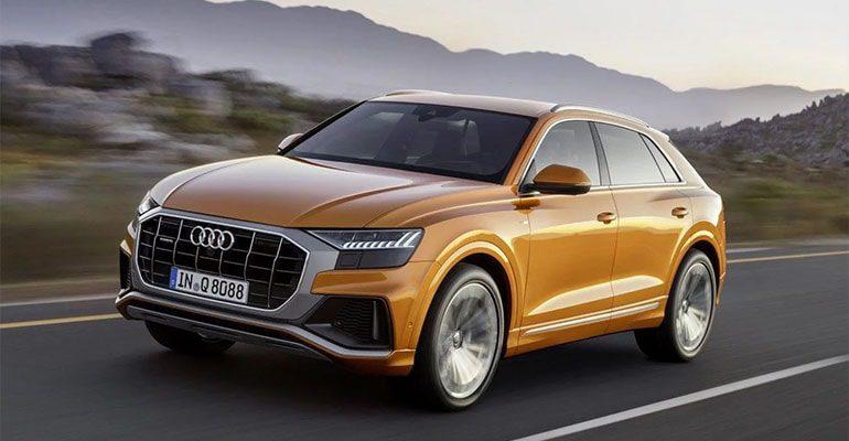 21117 Обзор автомобиля Audi Q8 2018 - 2019