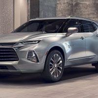 21271 Обзор автомобиля Chevrolet Blazer 2018 - 2019