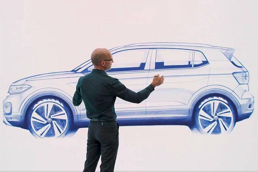 21412 Обзор автомобиля Volkswagen T-Cross 2018 - 2019