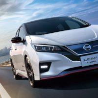 21442 Обзор автомобиля Nissan Leaf Nismo 2018 - 2019