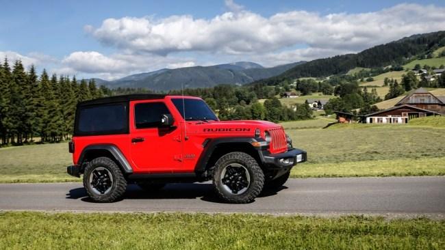 Сэр, есть, сэр!. Jeep Wrangler