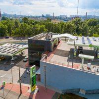 Сеть ОККО открыла самый высокий автозаправочный комплекс в Украине