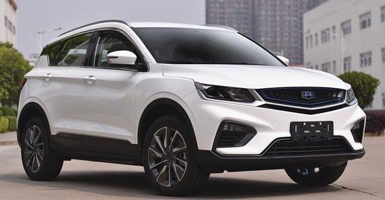 Описание автомобиля Geely SX11 2019