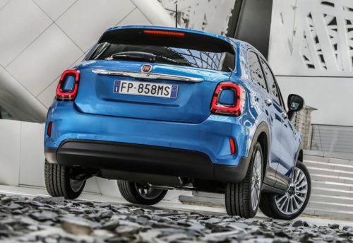 Описание автомобиля Fiat 500X 2019