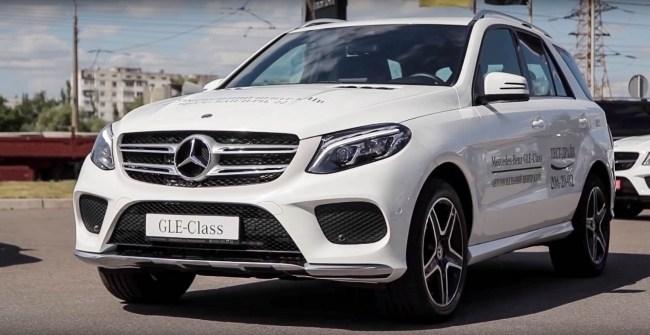 21523 Mercedes-Benz GLE. Дизельный оптимум. Mercedes GLE-Class SUV (W 166)