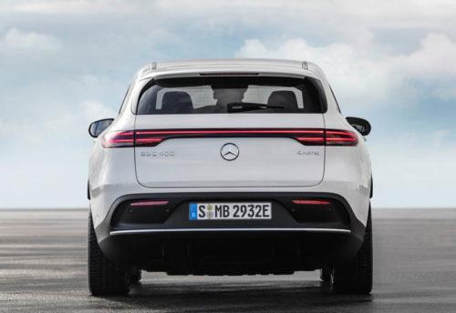 Описание автомобиля Mercedes EQC 2019 – 2020