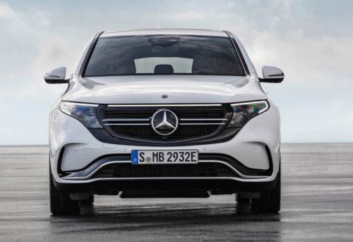 Описание автомобиля Mercedes EQC 2019 — 2020