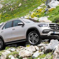 21678 Описание автомобиля Mercedes-Benz GLE 2019