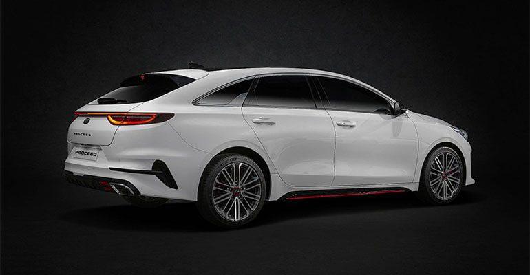 Описание автомобиля Kia ProCeed 2019 – 2020