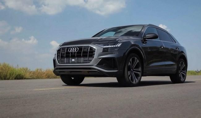 Audi Q8. Смещение акцентов. Audi Q8