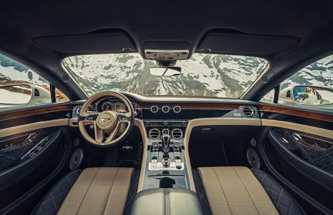 21767 Благодарим купе Bentley Continental GT за вклад в развитие Панамеры. Bentley Continental GT