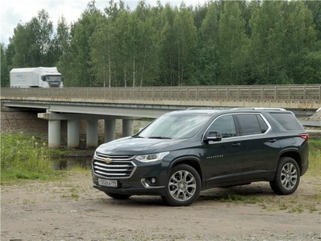 И вдоль, и поперек. Chevrolet Traverse