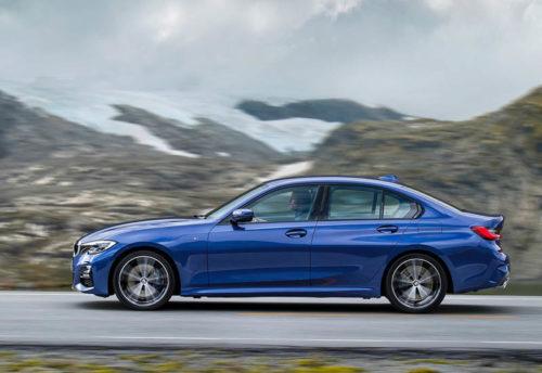 21853 Описание автомобиля BMW 3-Series (G20) 2019
