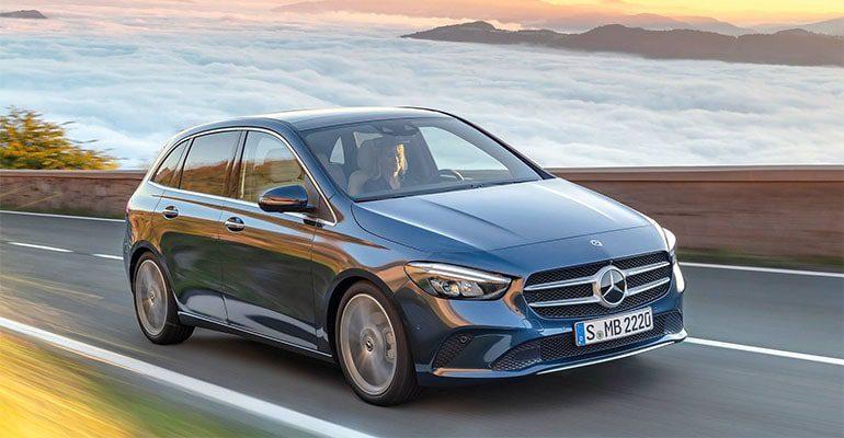 21867 Описание автомобиля Mercedes-Benz B-Class 2019 - 2020