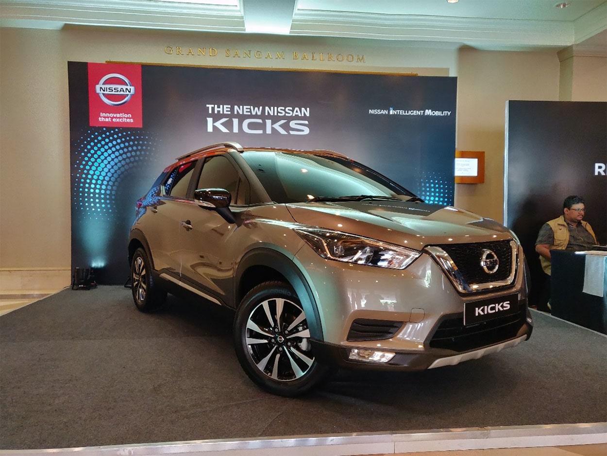 21986 Описание автомобиля Nissan Kicks 2018 - 2019