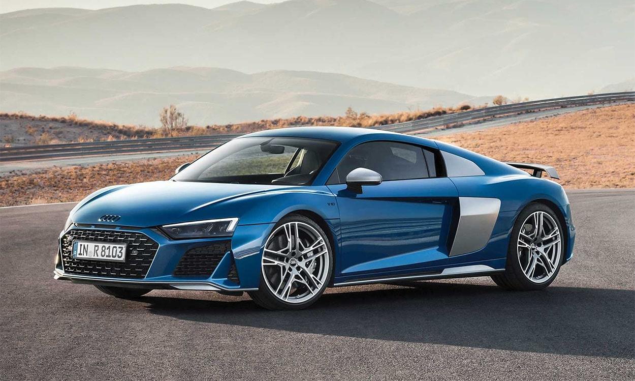 21999 Описание автомобилей Audi R8 Spyder и Coupe 2019 - 2020