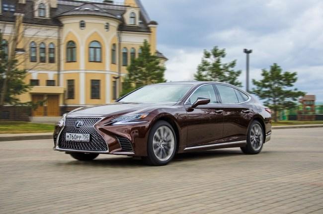 21903 Чем удивляет новый флагманский седан вот «Лексус». Lexus LS 500