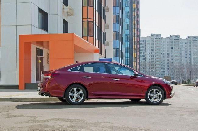 21943 Пятилетку за час. Hyundai Sonata