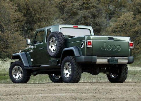 Описание автомобиля Jeep Gladiator 2019