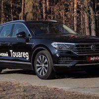 Volkswagen Touareg. Новые ответы на старые вопросы. Volkswagen Touareg