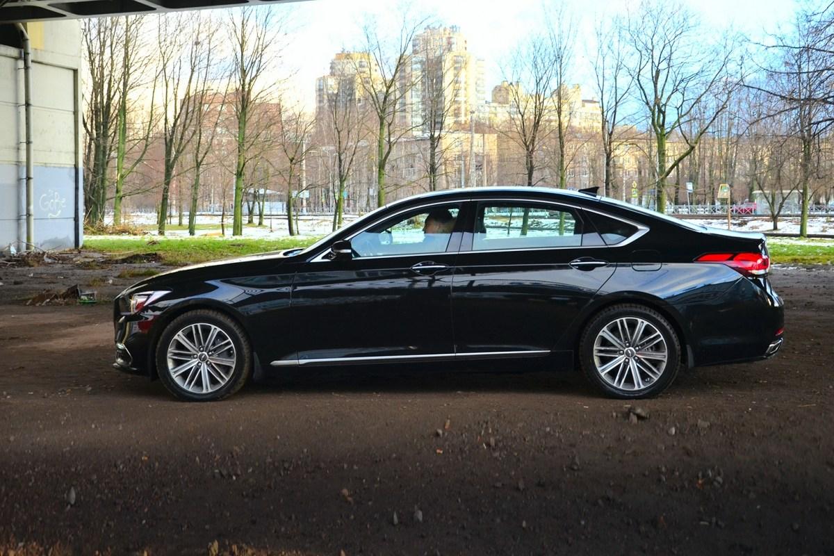 22168 Высокие требования. Hyundai Genesis G80