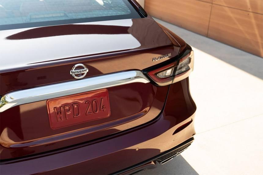 Описание автомобиля Nissan Maxima 2019 – 2020