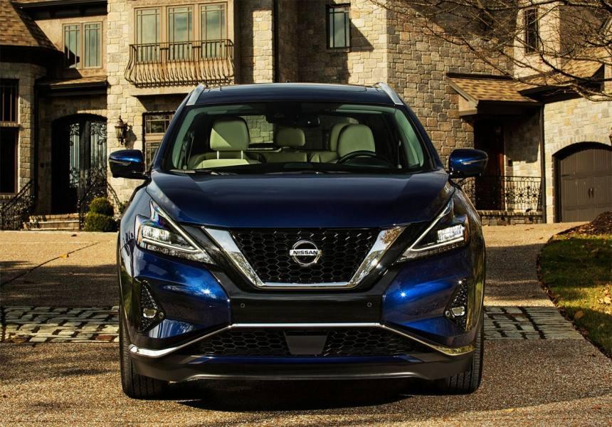 22241 Описание автомобиля Nissan Murano 2019