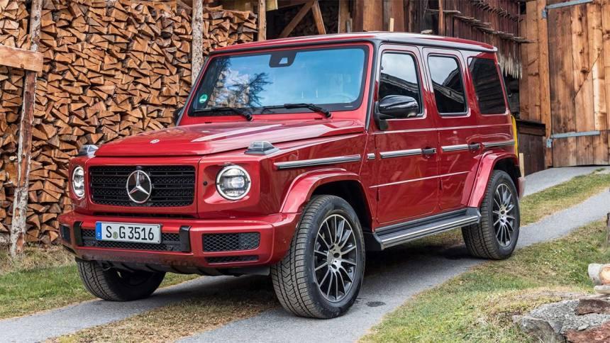 22341 Описание автомобиля Mercedes-Benz G350d 2019 года