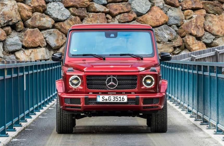 Описание автомобиля Mercedes-Benz G350d 2019 года