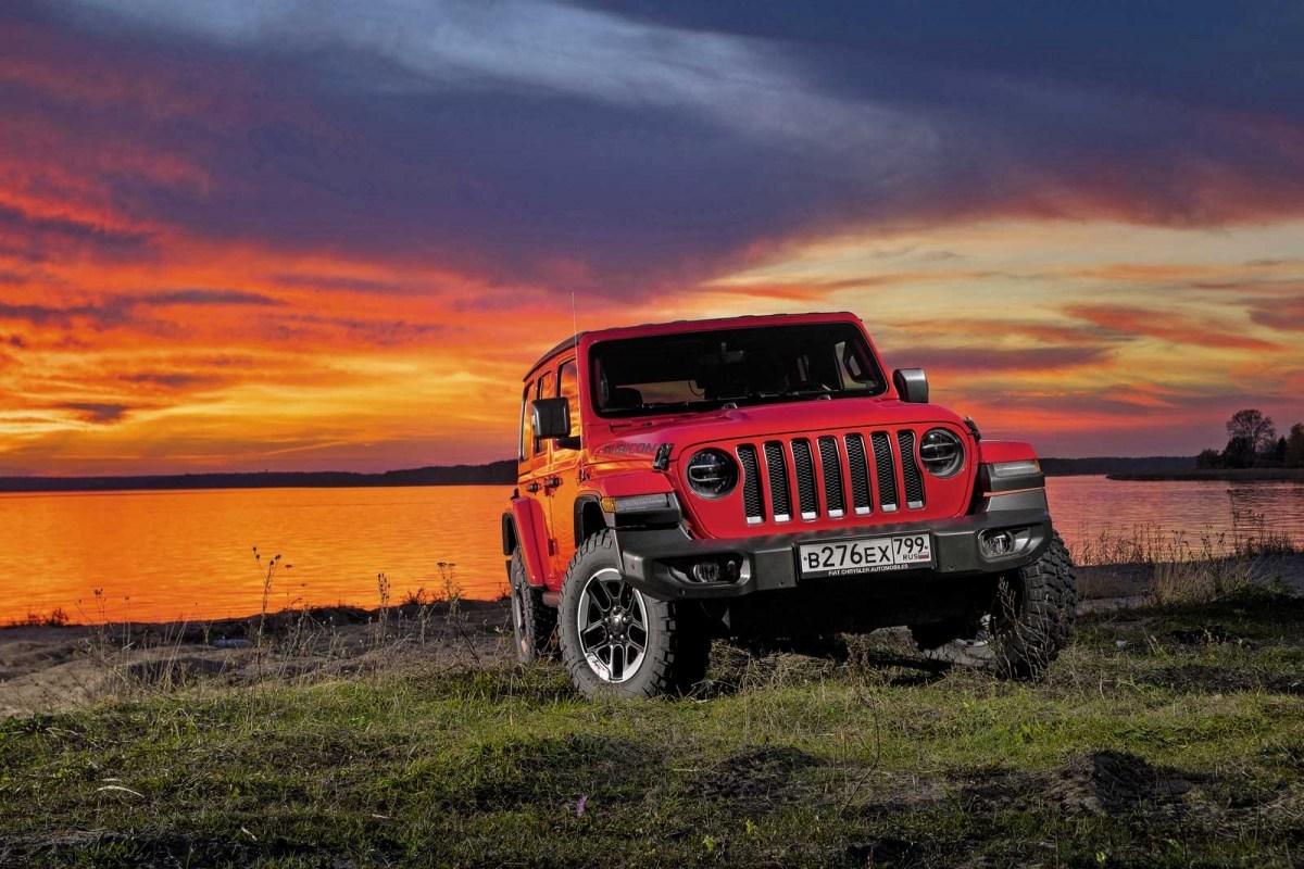 22291 Это вам не УАЗик!. Jeep Wrangler Unlimited