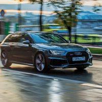 22361 Бешенный «сарай». Audi RS4 Avant