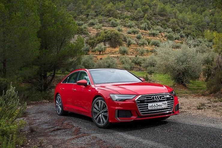 22390 Странный бизнес. Audi A6