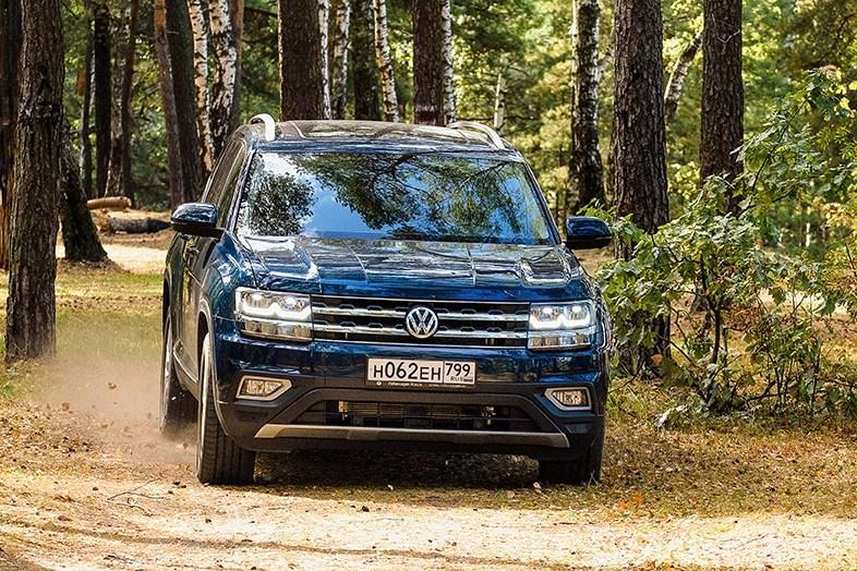 22394 Свое слово. Volkswagen Atlas