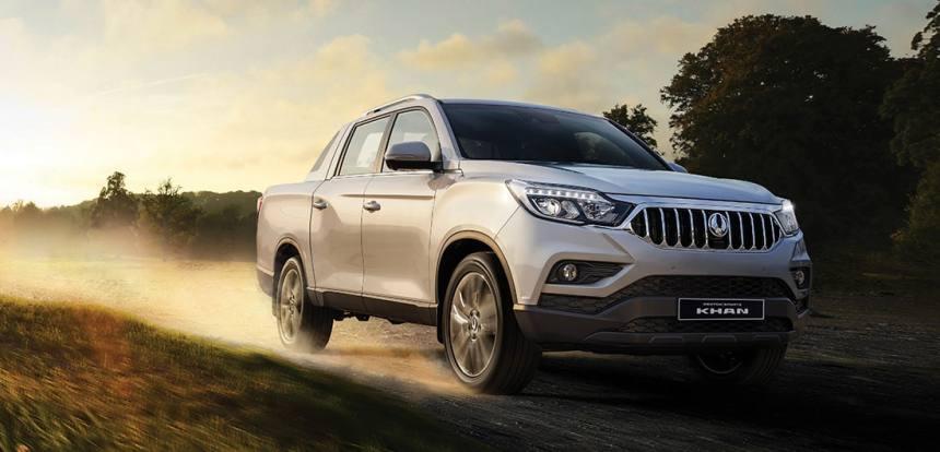 Описание автомобиля SsangYong Rexton Sports Khan 2019 – 2020