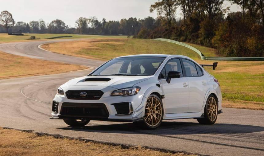 Описание автомобиля Subaru WRX STI S209 2019 — 2020
