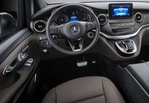 Описание автомобиля Mercedes-Benz V-Class 2020