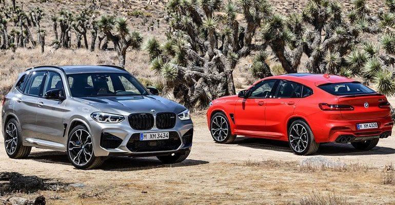 22661 Описание автомобиля BMW X3 M и X4 M 2019 - 2020