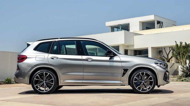 Описание автомобиля BMW X3 M и X4 M 2019 – 2020