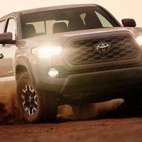 22690 Описание автомобиля Toyota Tacoma 2020 - 2021