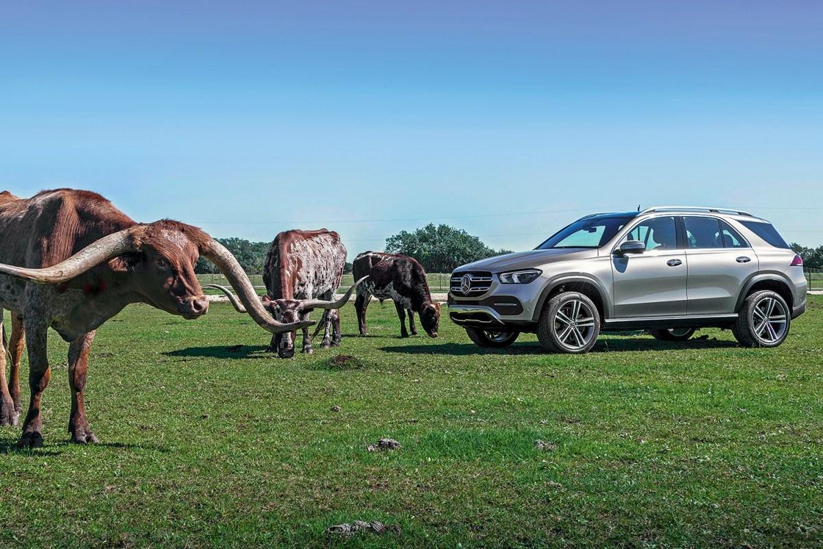 22599 Обломать рога конкурентам. Mercedes GLE-Class SUV (W167)