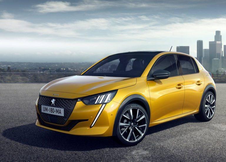 22805 Описание автомобиля Peugeot 208 2019 - 2020
