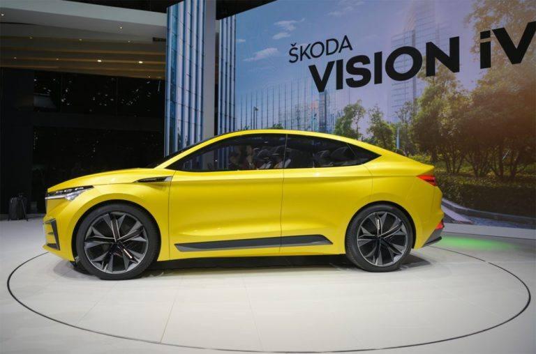 22837 Описание автомобиля Skoda Vision iV Concept 2019