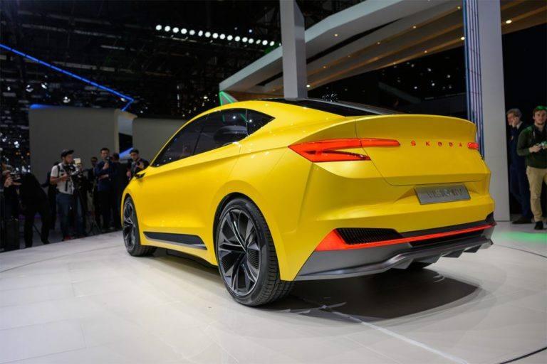 Описание автомобиля Skoda Vision iV Concept 2019