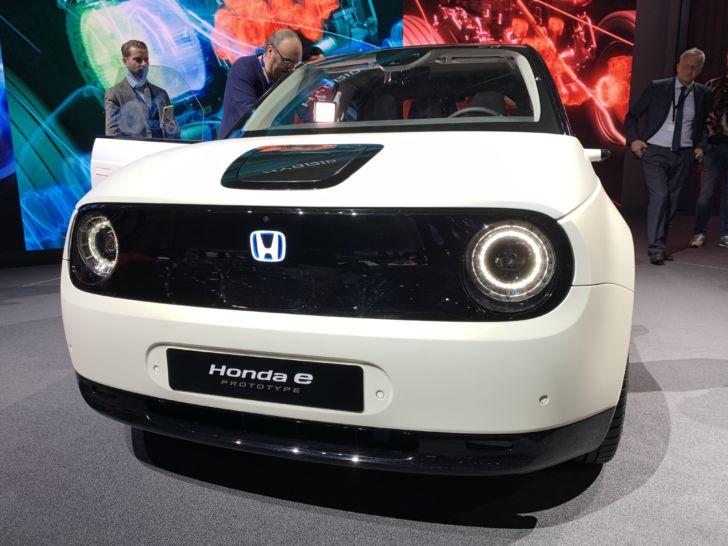 22827 Honda e Prototype дебютировал на Женевском автосалоне