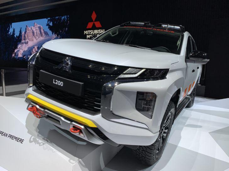 Mitsubishi привезла в Женеву обновленные L200 и ASX