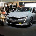 Peugeot показала гибридный концепт 508 Sport Engineered