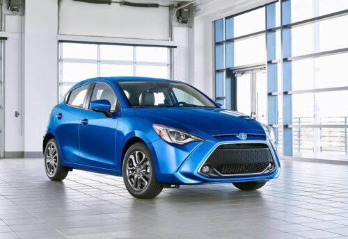 22923 Описание автомобиля Toyota Yaris 2019-2020