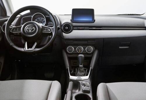 Описание автомобиля Toyota Yaris 2019-2020