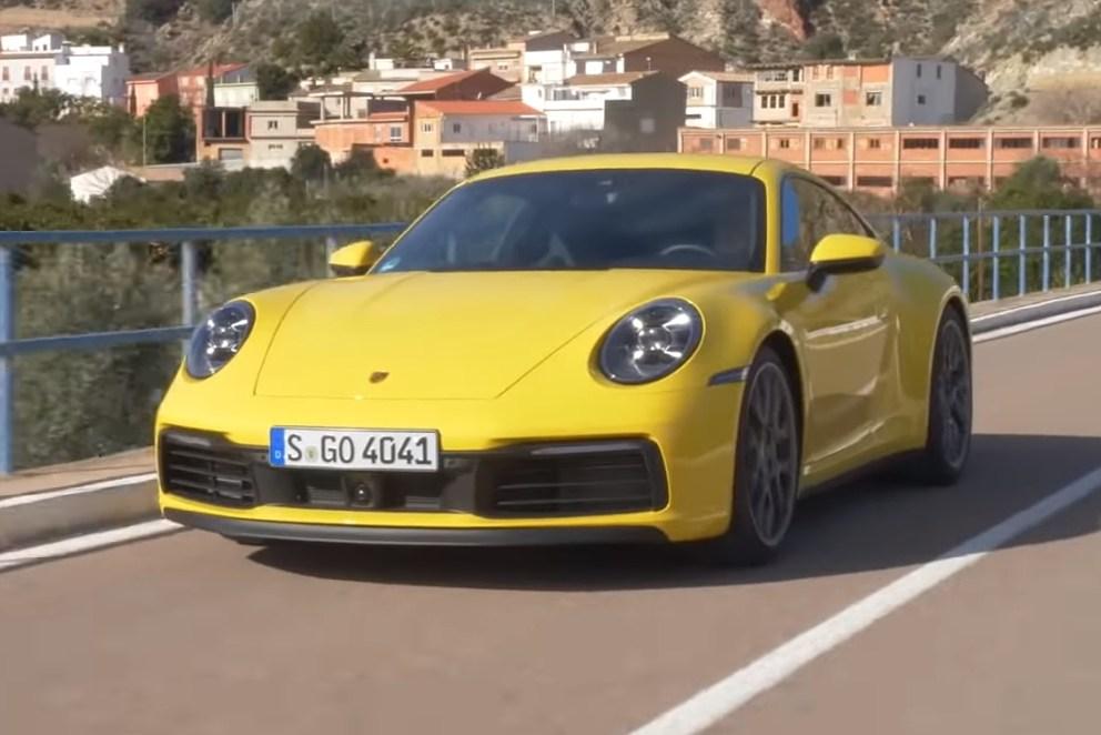 22911 Новый Porsche 911 - самый комфортный спорткар. Porsche 911 Carrera